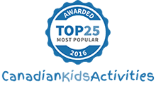 Canadian Kids Activities Top 25